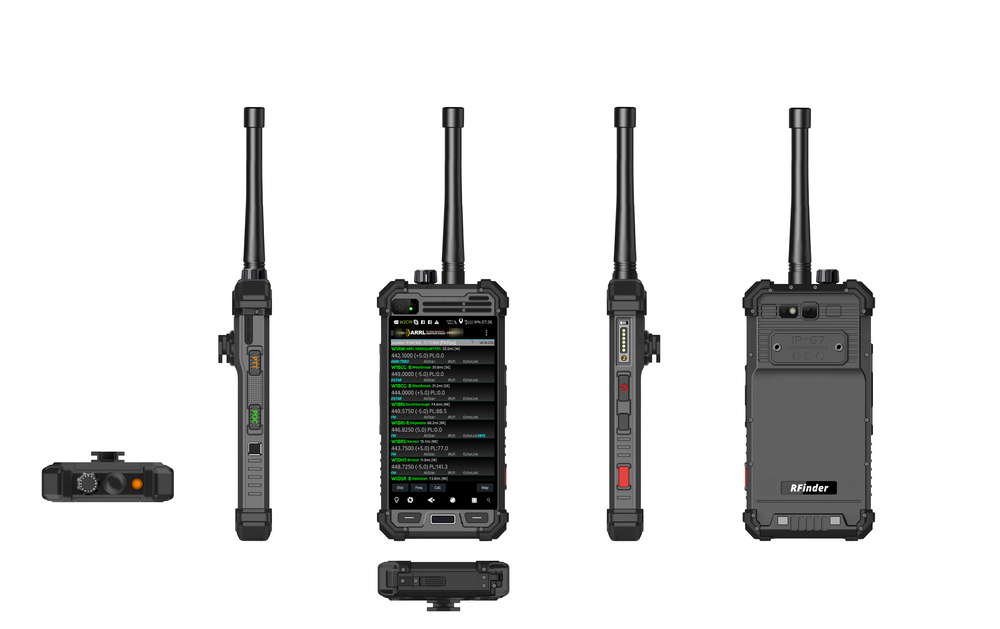RFinder Android Radio M1DV 146mhz VHF DMR/FM Hardened device  ***Now Shipping!***