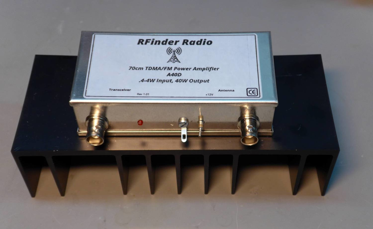 A40D 70cm TDMA/FM Amp....5-4W in, 40W out!