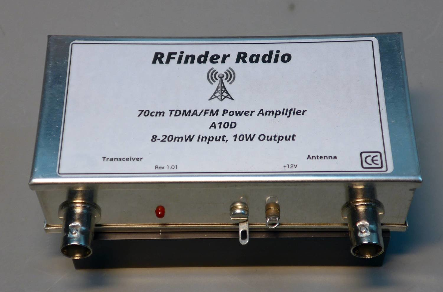 A10D 70cm TDMA/FM Amp....8-20mW in, 10W out!