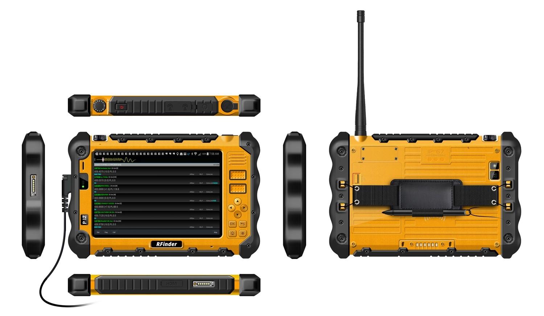 """RFinder Android Radio P12DU 432mhz DMR/FM 7"""" Hardened tablet **2nd Gen"""