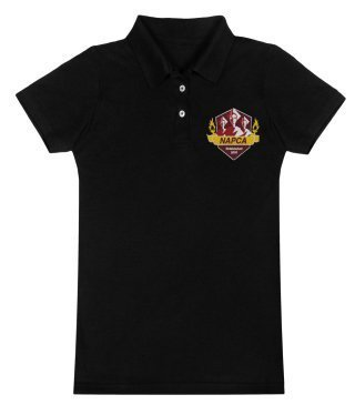 Women's Polo (Black)