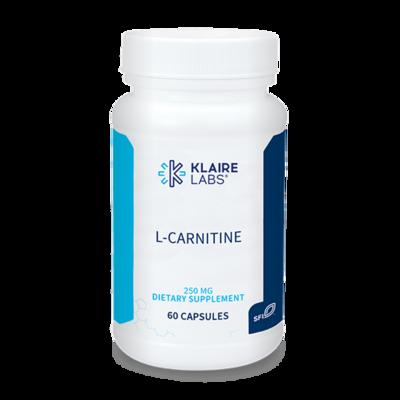 L-Carnitine 250 mg 60 capsules
