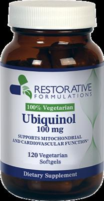 Ubiquinol 100mg 120 soft gels