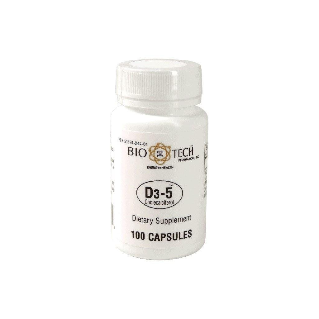 Vitamin D3 5,000 IU 100 capsules