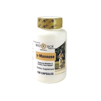 D-Mannose 300 mg 100 capsules