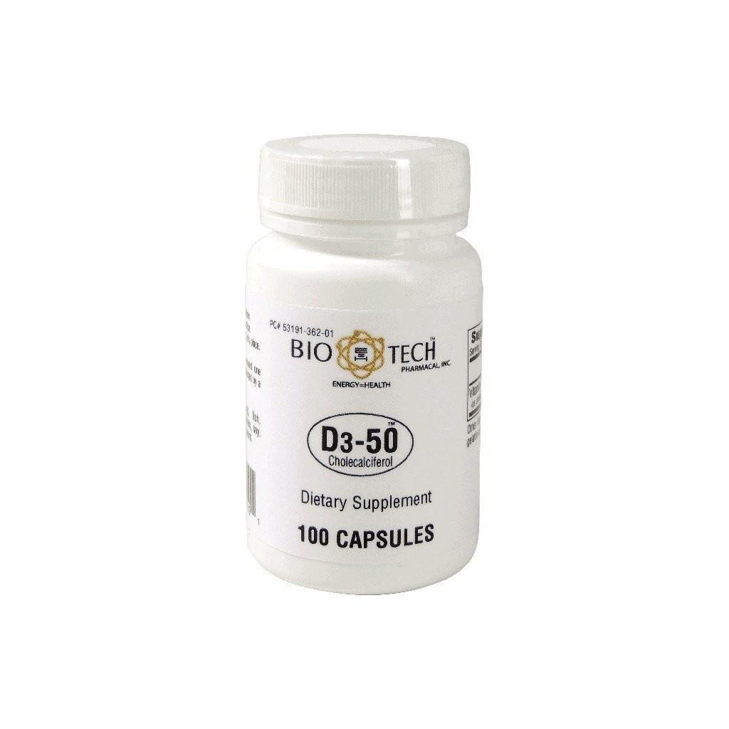 Vitamin D3 50,000 IU 100 capsules