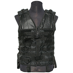 Tactical Molle Vest - Black - Camo - ACU