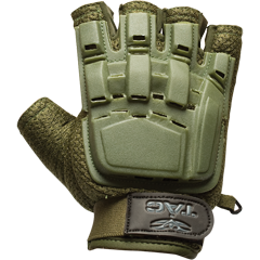 Tactical Half Finger Gloves in Tan, Olive or Black