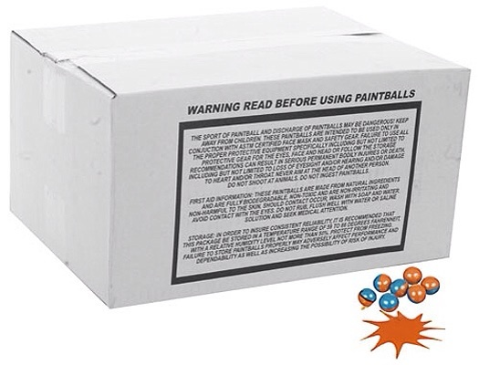 .68 Caliber - Planet Paintballs - 2000 count box - always in stock