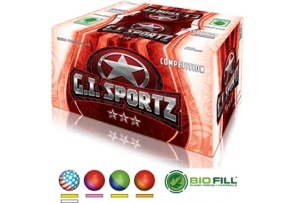 3 Star Competition .68 caliber Paintballs - 2000 count box - available by pre order 72 hours prior to your game date