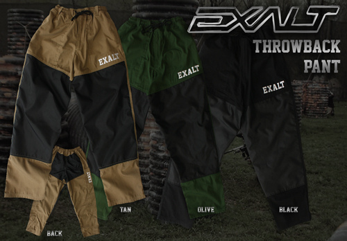 Exalt T4 Pants - Tan or Black