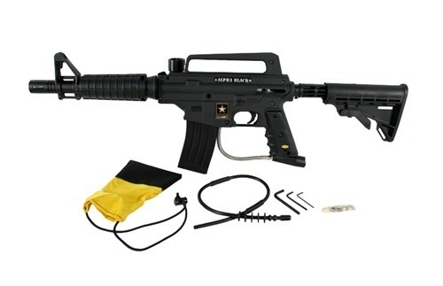 Tippmann Alpha Black Elite Paintball Marker