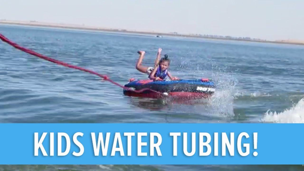 Water Tubing Birthday Party