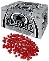 1 Star Recreational .68 caliber Paintballs - 2000 count box - available by pre order 72 hours prior to your game date