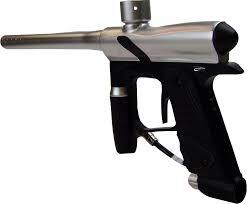 Rental Electronic Paintball Marker + Electronic Hopper + High Pressure Air Tank + Mask Rental