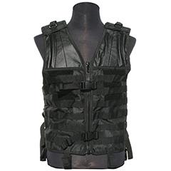 Tactical Molle Vest - Black - Camo - ACU