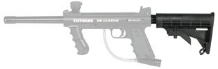 Tactical Adjustable CAR Stock Fits Tippmann 98 + Valken SW-1