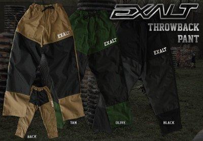 Exalt T4 Pants - Tan or Black