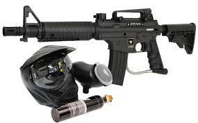 Riverbend Paintball Rental Gear & Goggle, Park Addmission, Unlimited Air, Plus 500 Count Paintballs