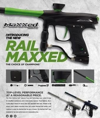 DYE Rail Maxxed