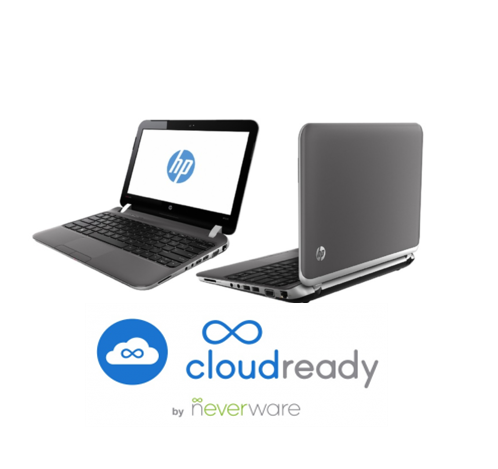 "11.6"" CloudReady ChromeOS HP 3115m Notebook Computer, Beats Special Edition with WiFi & Bluetooth"