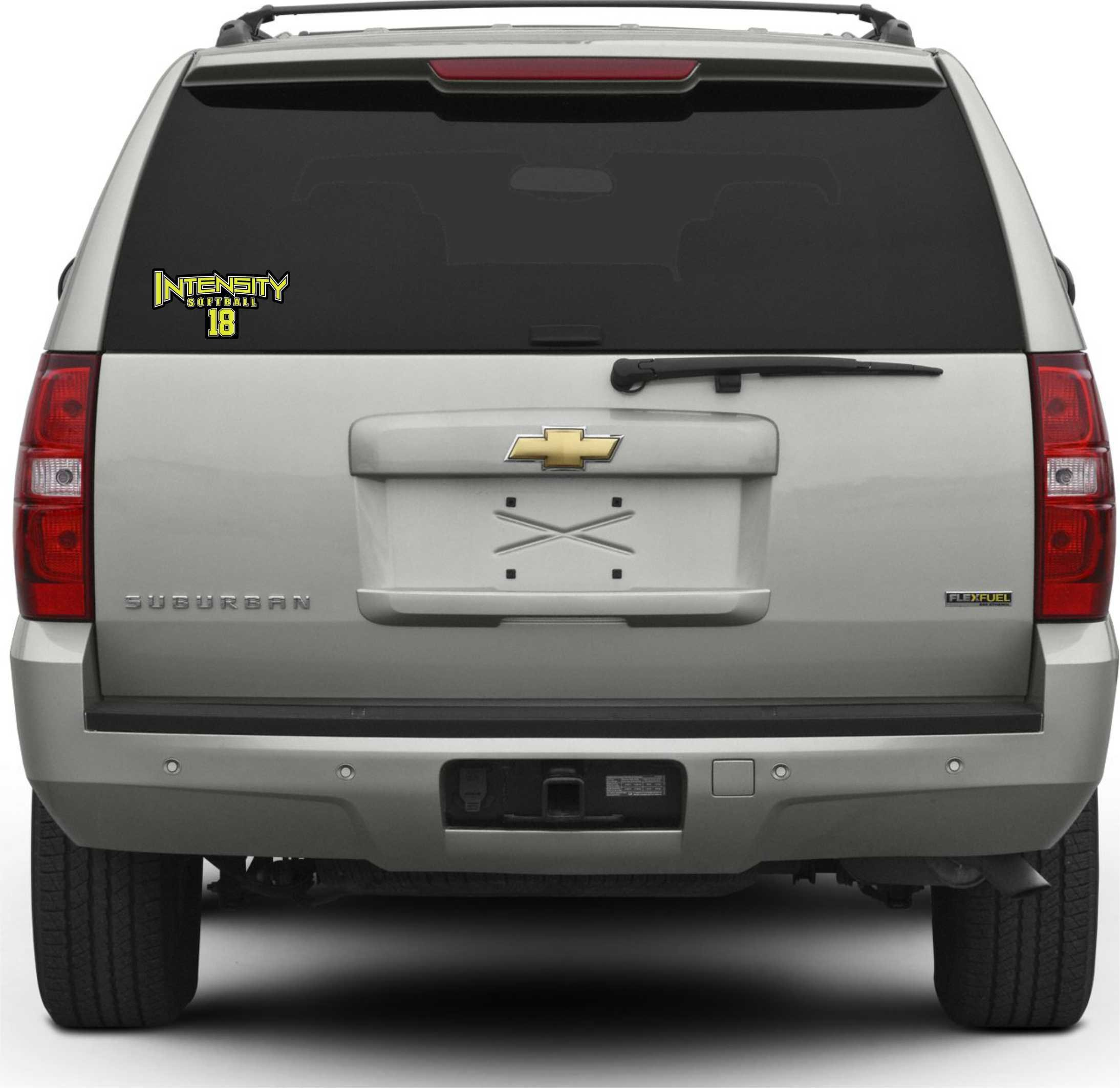 Personalized Window Decal Advanced Promotions Screen Print - Window decals for vehicles personalized
