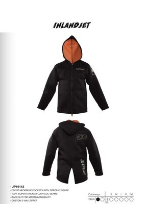 Jetpilot Tour Coat Black