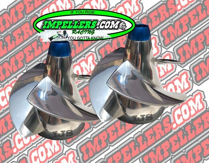 Pro Scarab Impellers kit Twin 250Hp Vortex & Glastron 250hp