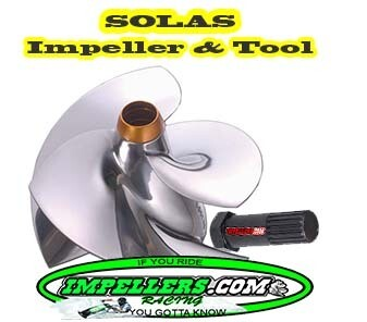 Solas Super Camber Jet Ski Impeller & TOOL KASCI 13/18 650cc