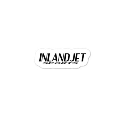 InlandJet Sports Bubble-free stickers