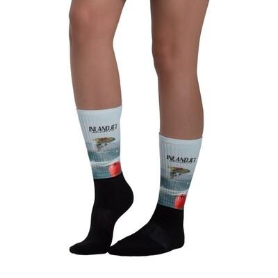 InlandJet JetSki FreeRide Print Sports Socks