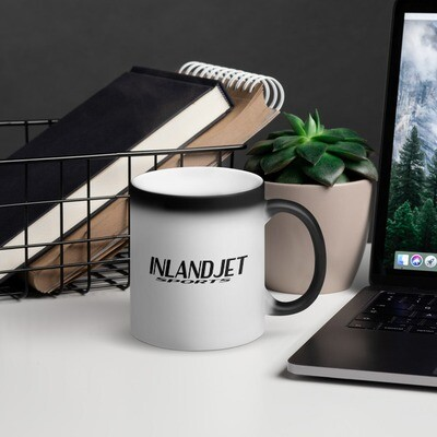 InlandJet Sports Matte Black Magic Mug