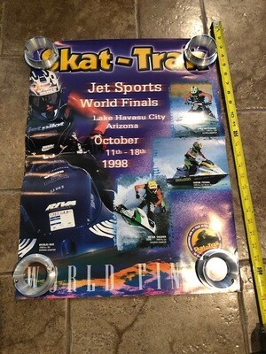 1998 Skat-Trak Jet Sports World Finals Poster