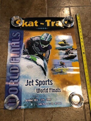 1999 Skat Trak Jet Sports World Finals Jet ski riders Poster