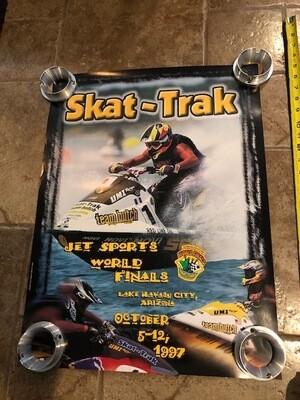 1997 Skat-Trak Jet Sports World Finals poster