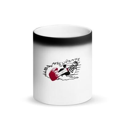 Action Jet Skier Matte Black Magic Mug