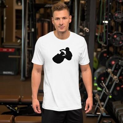 Butt Drag Jet Skier Short-Sleeve Unisex T-Shirt