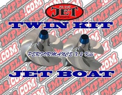 PRO Performance 2x impeller kit Sea Doo Challenger 430 Wake 430 SP 430 TWIN