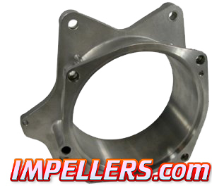 InlandJet HD impeller housing solid Stainless Yamaha Boat 4-Stroke 155mm