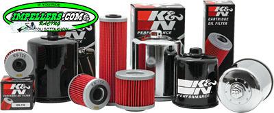 K&N Oil Filter BRP 4-Stroke (except spark) Sea Doo 4-TEC Scarab Vortex