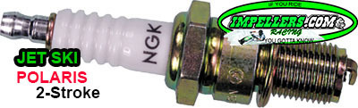 NGK BR9ES Spark Plug Jet Ski & Polaris 2 Stroke