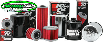 K&N Oil Filter BRP 4-Stroke (except spark) Sea Doo 4-TEC Scarab Vortex C/O