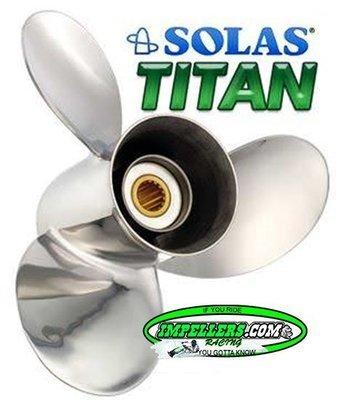 HONDA Solas Titan 3 Propeller Stainless Steel 3 Blade 60-130HP