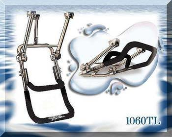 Boat Self-Retracting Double Step Boarding Ladder