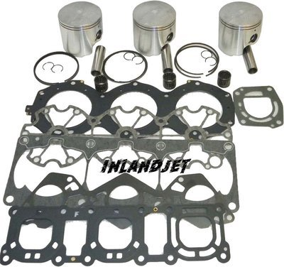 Yamaha Waverunner Piston Kit 1200cc 97-99 & Boat
