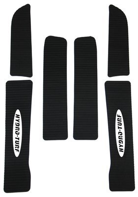 Huydro Turf Kawasaki ZXI mat kit black 6 piece