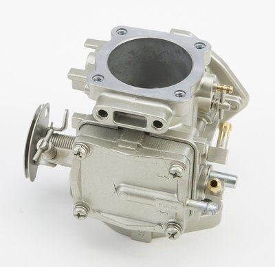 Mikuni carburetor Super BN 44mm High Performance silver