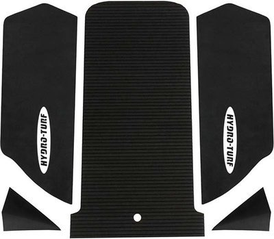 Hydro Turf Kawasaki SX-R 1500 mat kit with 2inch corner kicks 5 piece Black