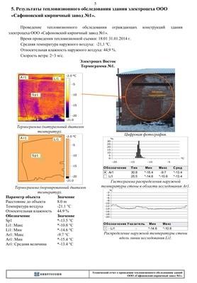 Выборочное тепловизионное обследование ограждающих конструкций административных зданий и зданий промышленного назначения, руб/снимок