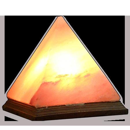 Himalayan Crystal Salt Lamp Pyramid   Medium